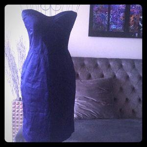 S NWT Cocktail Dress Dk Purple Like BEBE